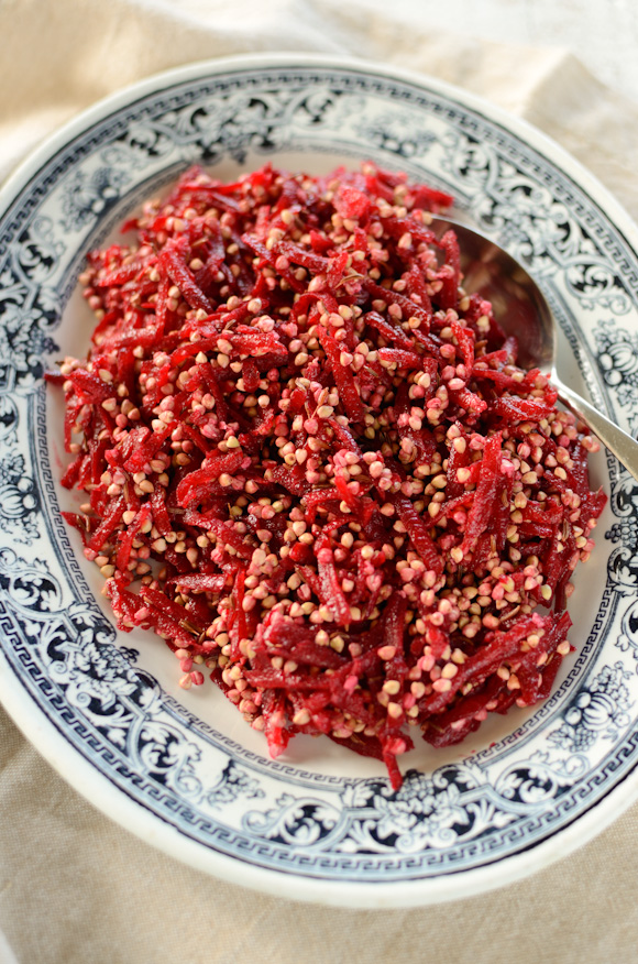 Toasted Buckwheat and Beetroot Salad
