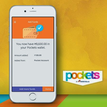 Add Rs.250 in Pockets app and get Rs.100 earntalktime balance