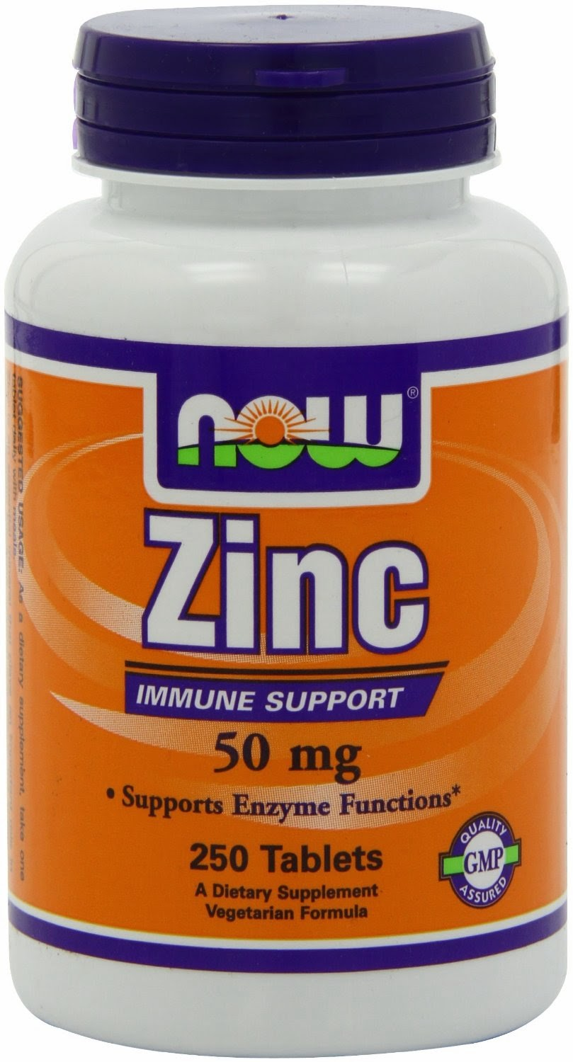 Zinc Gluconate 50 mg by Now Foods