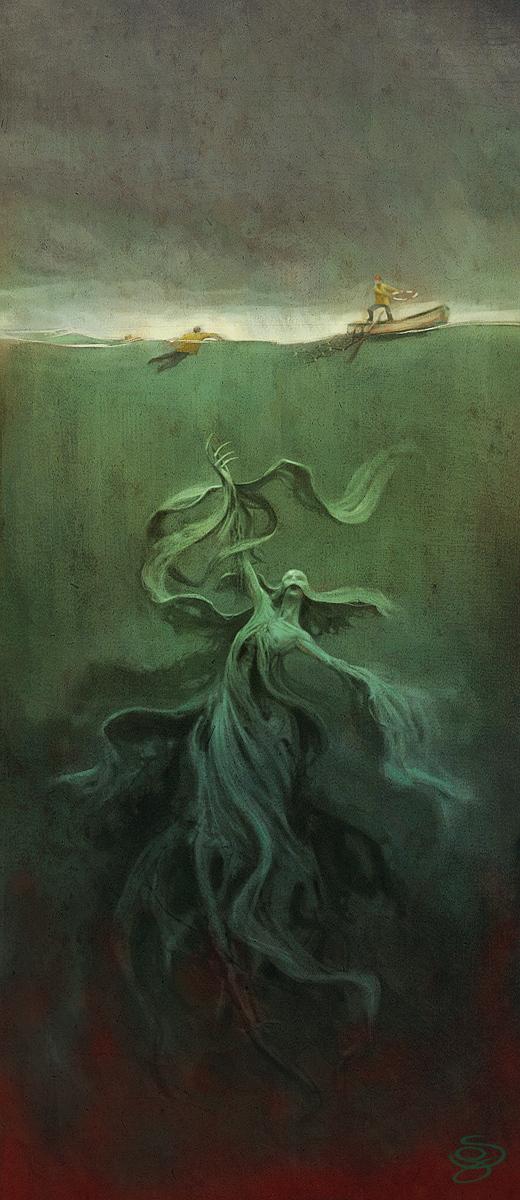 Sebastian Giacobino: Marine Monster -- Søuhyre
