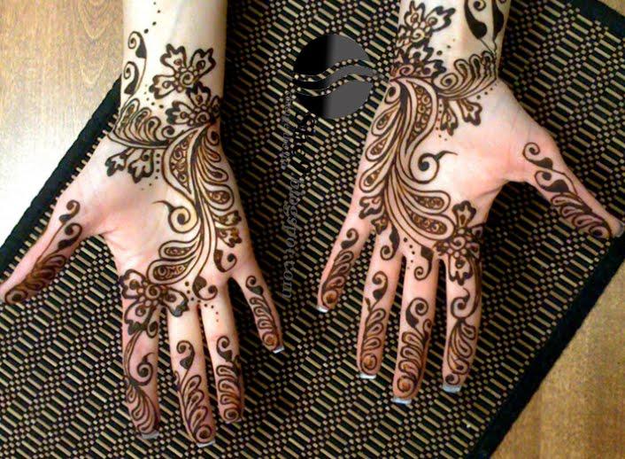 Tattoo Type Mehndi : All types of mehndi styles beautiful