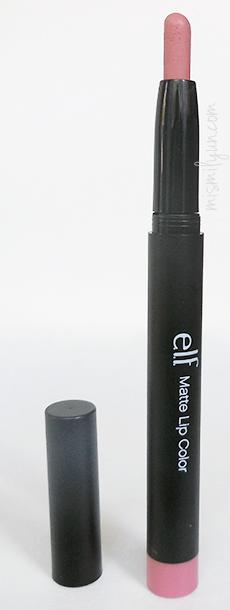 matte lip color elf natural swatch