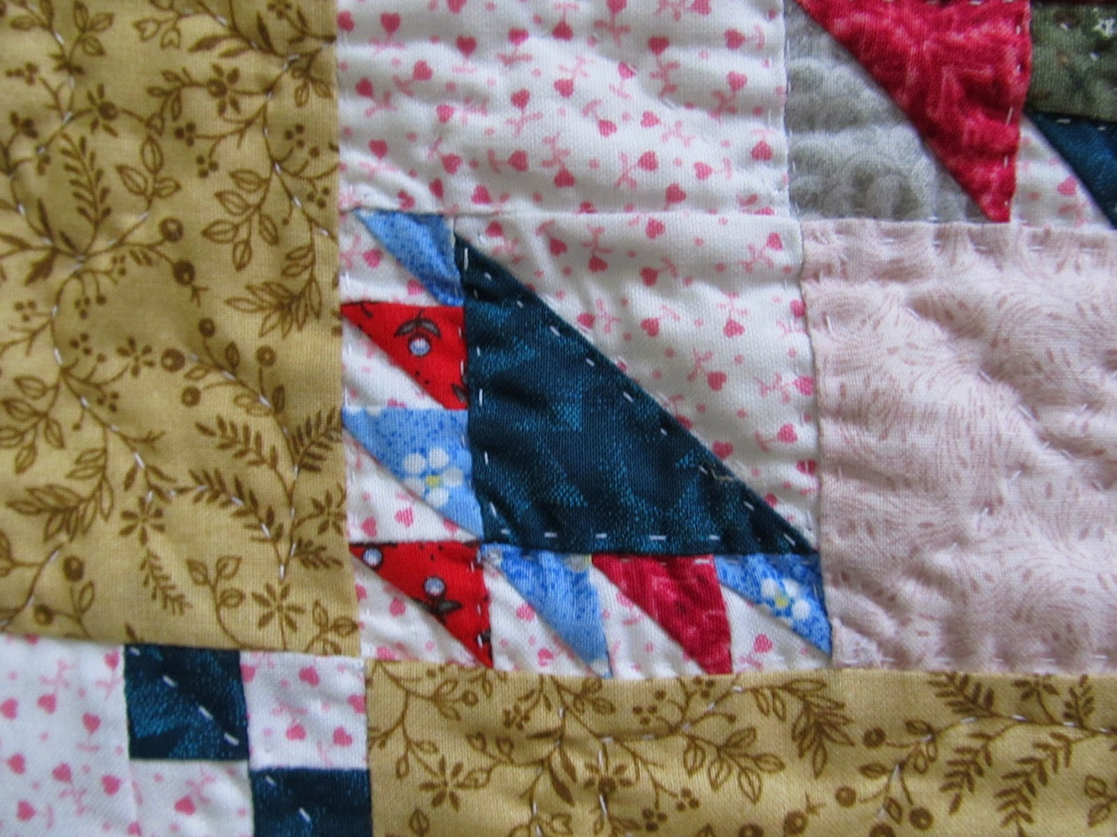how to make a little quilt