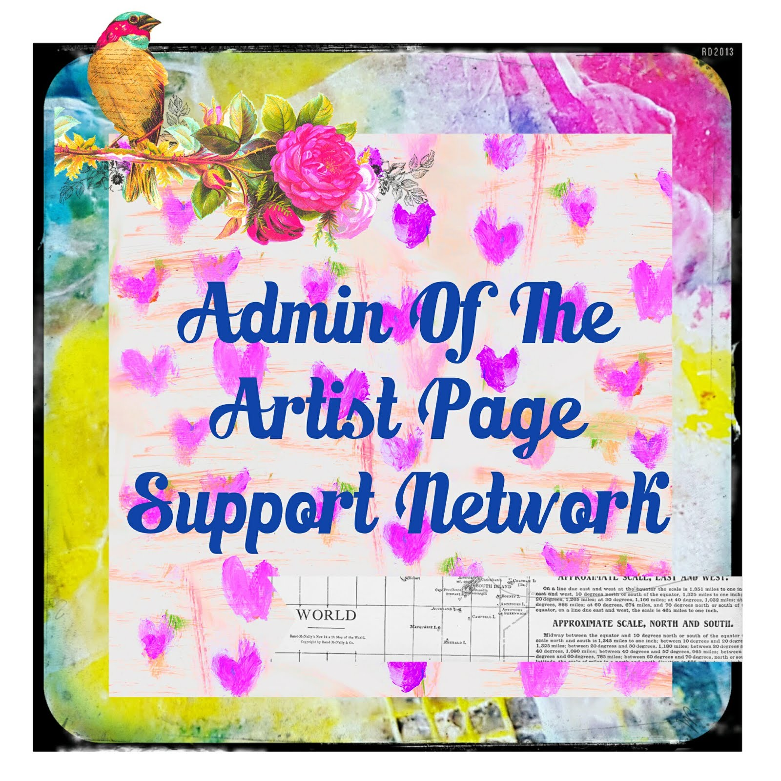 Admin Artist Page Support Network