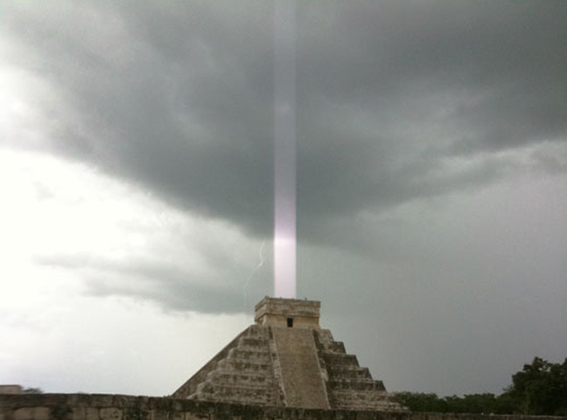 The Secret Power of the Pyramidal Shape