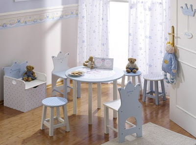 modern blue contemporary baby furniture
