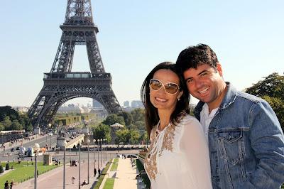 namorando em Paris