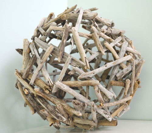 driftwood balls how to make