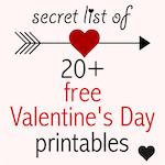 Free Valentines: