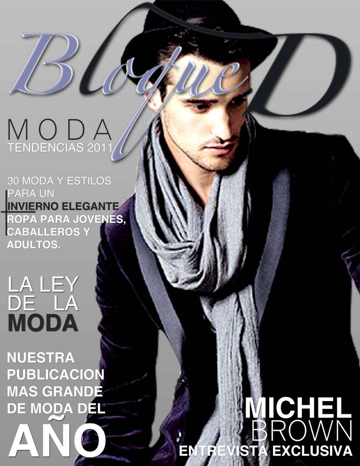 revista de moda bloque d