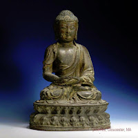 16th C. Ming Bronze Buddha