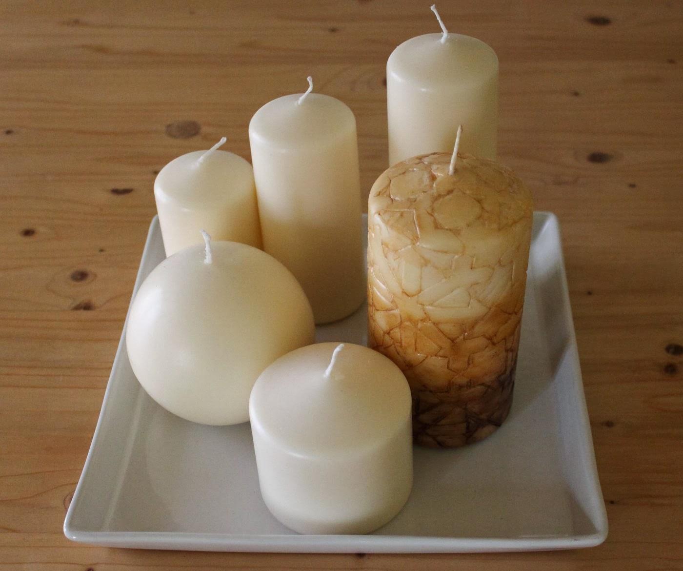 Maisonvive l arte di vivere la casa idee arte e - Decorare casa con candele ...