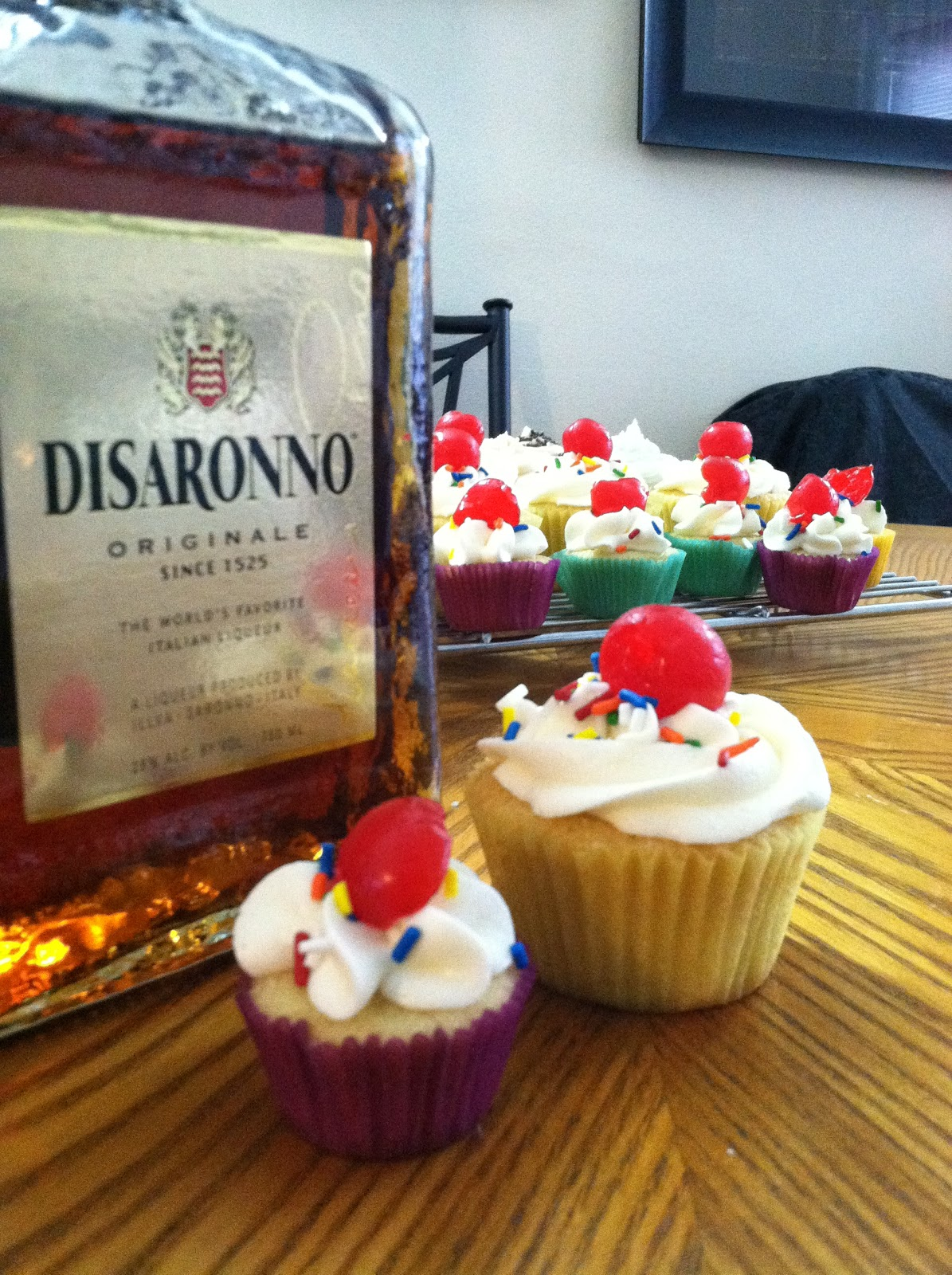 Alcoholic Cupcake Recipe