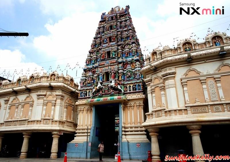 Samsung NX Mini Smart Camera, Photo Marathon Challenge, malaysia historical building, petaling street, indian temple, sri mahariamman temple, prayer