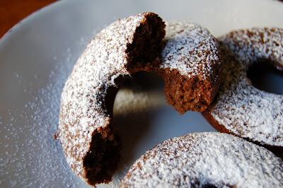 Chocolate Baked Doughnuts (Gluten Free)