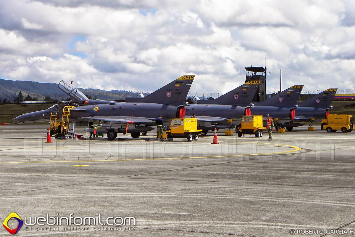 Colombia Kfir Fuerza Aerea