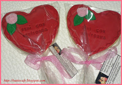 Sevgililer günü kurabiyeleri