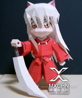 Mini Inuyasha Papercraft