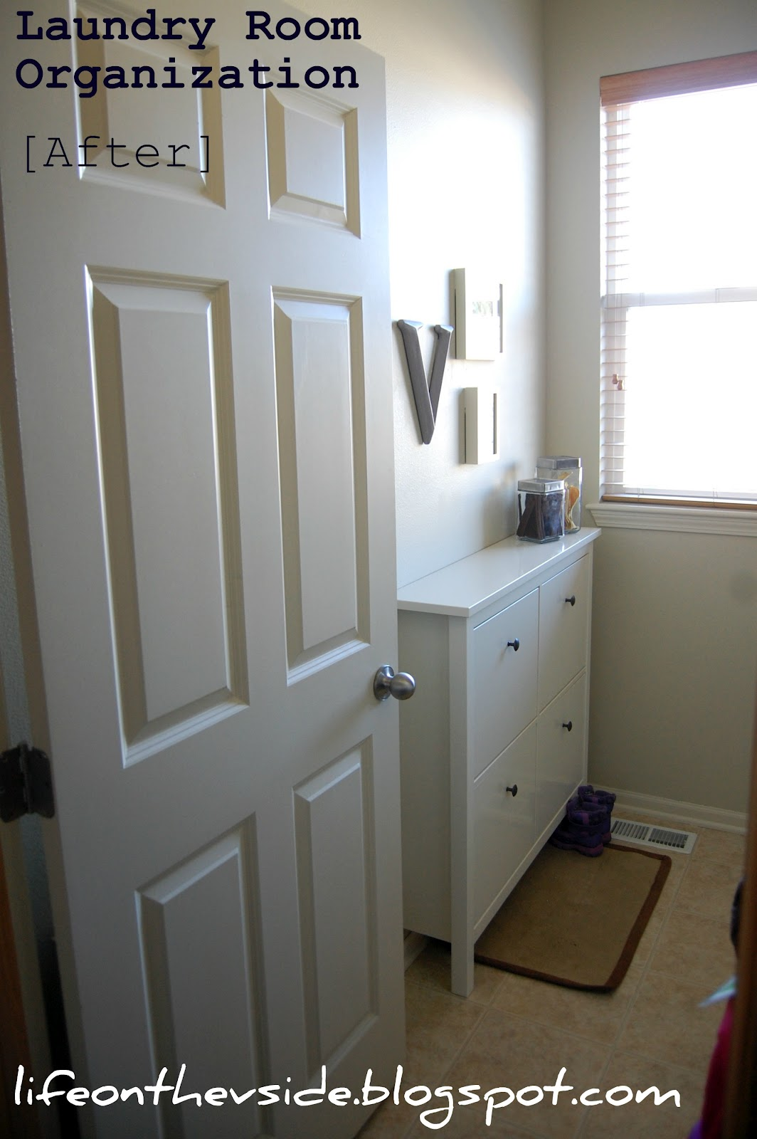 On The V Side Laundry Room Sos Before After