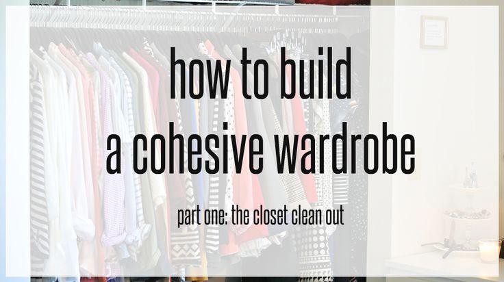 building a cohesive wardrobe