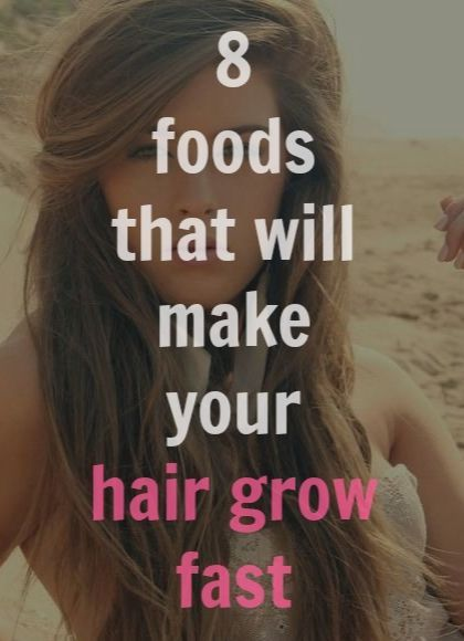 Learn How to Grow Your Hair Faster With 8 Foods