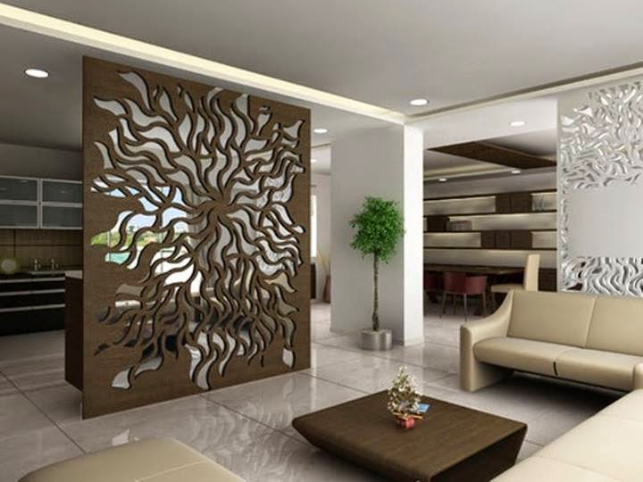 Wall Jali Design : Interior and exterior acrylic mdf jali