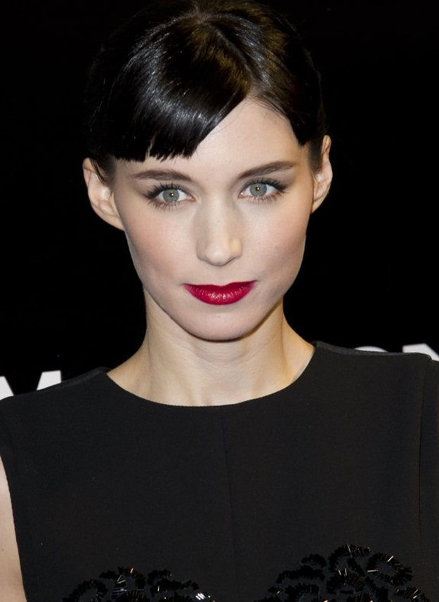 the girl with the dragon tattoo paris premiere - Rooney Mara