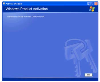 how to fix windows xp 30 day activaiton