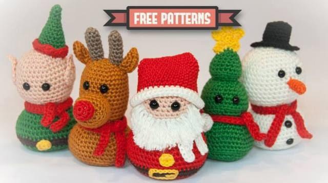 Amigurumi Tutorial Natale : Hand Made With Love by Betta: Amigurumi... Christmas ...