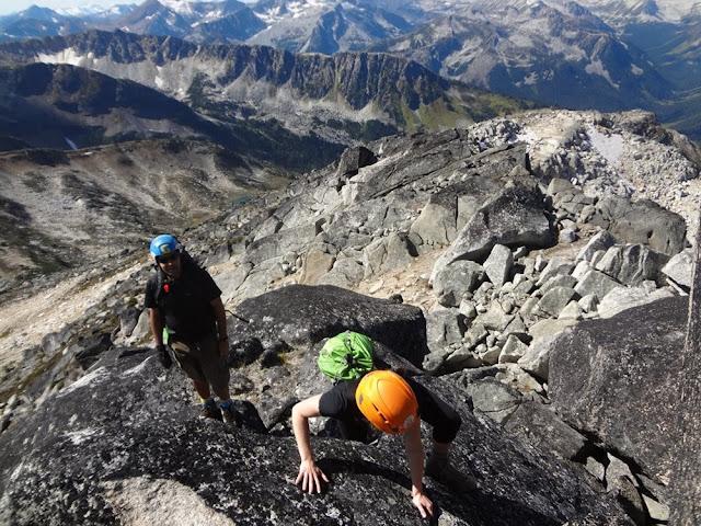 Scramble, Mt. Gandalf, Tolkien Group