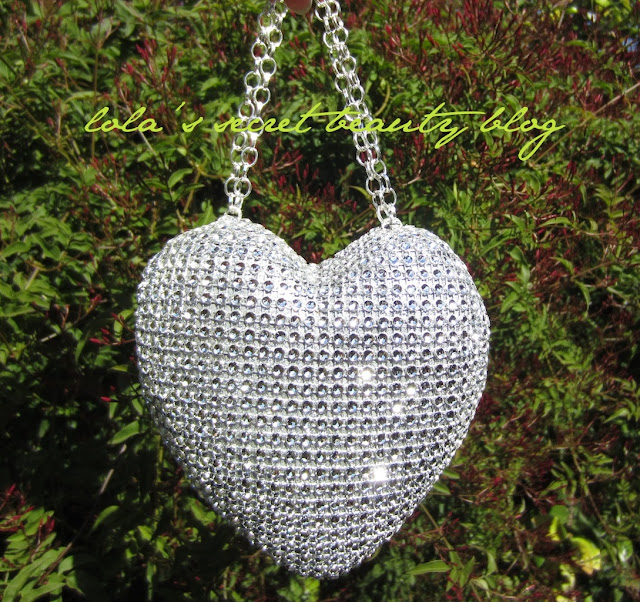 lola's secret beauty blog: A Very Coveted Handmade Heart Shaped Birthday Gift that My Beloved Friend Made for Me!!!!!!!