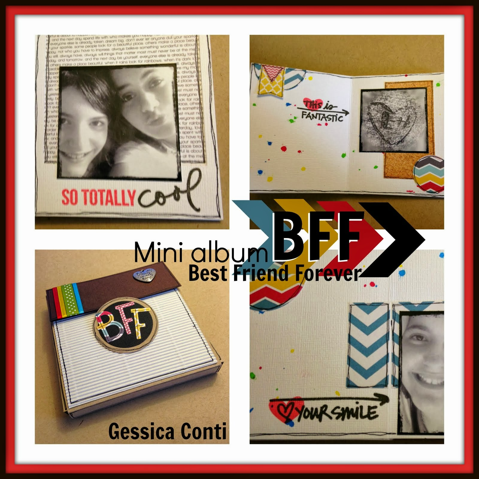 Corso mini album BFF Best Friend Forever