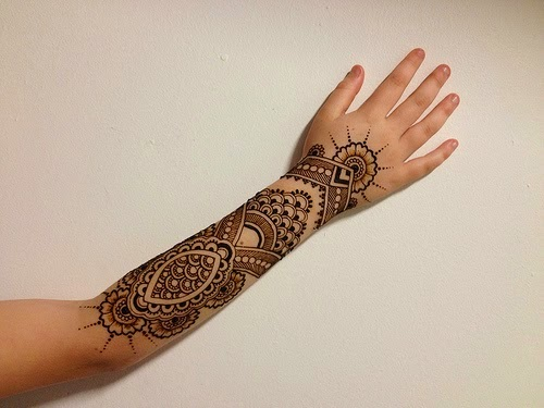 Mehndi Tattoo Flower Designs : Henna designs 2014 tattoo hair dye for hands art