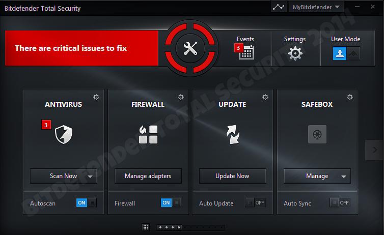 تحميل برنامج بتدفندر Bitdefender Total Security 2014 لمكافحة الفيروسات