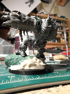 showing the switch on the side of the Helbrute