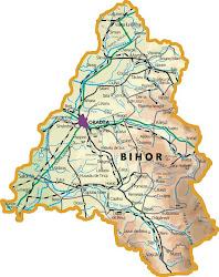 Harta corală a judeţului Bihor