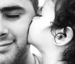 Un gran beso para papa