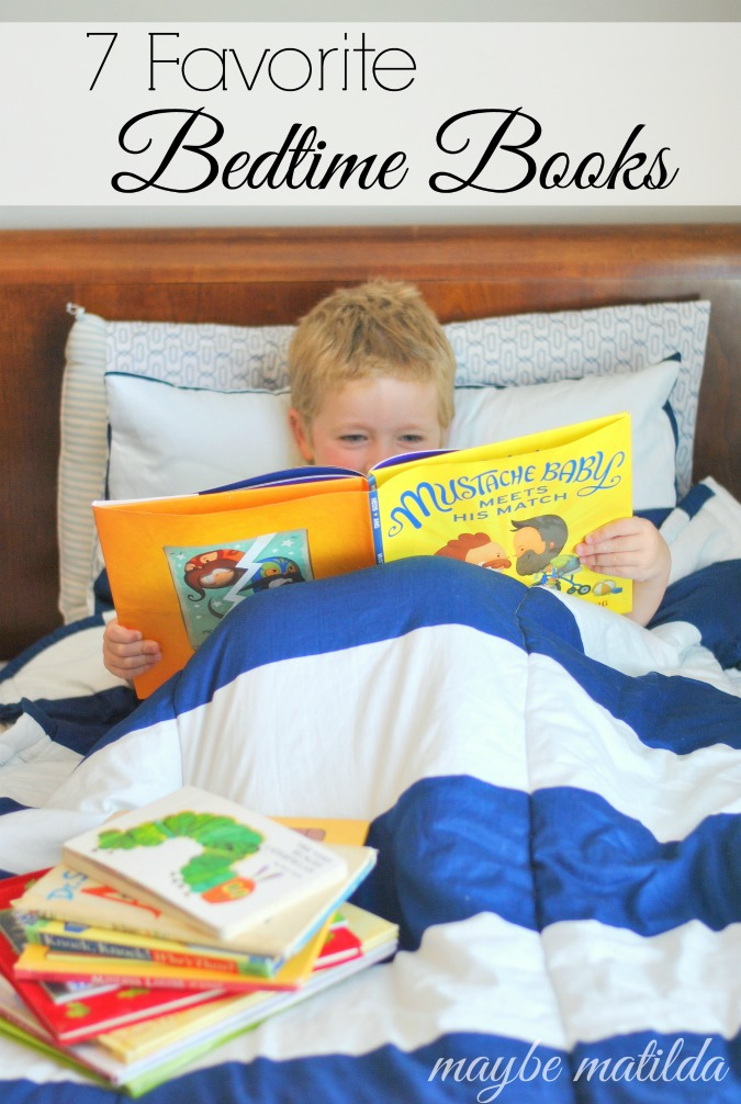 7 great bedtime stories to read to your kids