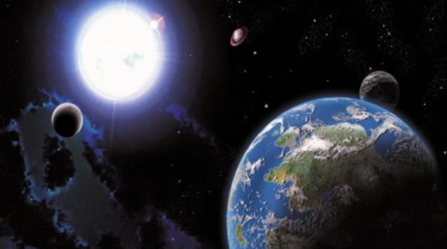 Bumi Menyusut Dan Mengecil