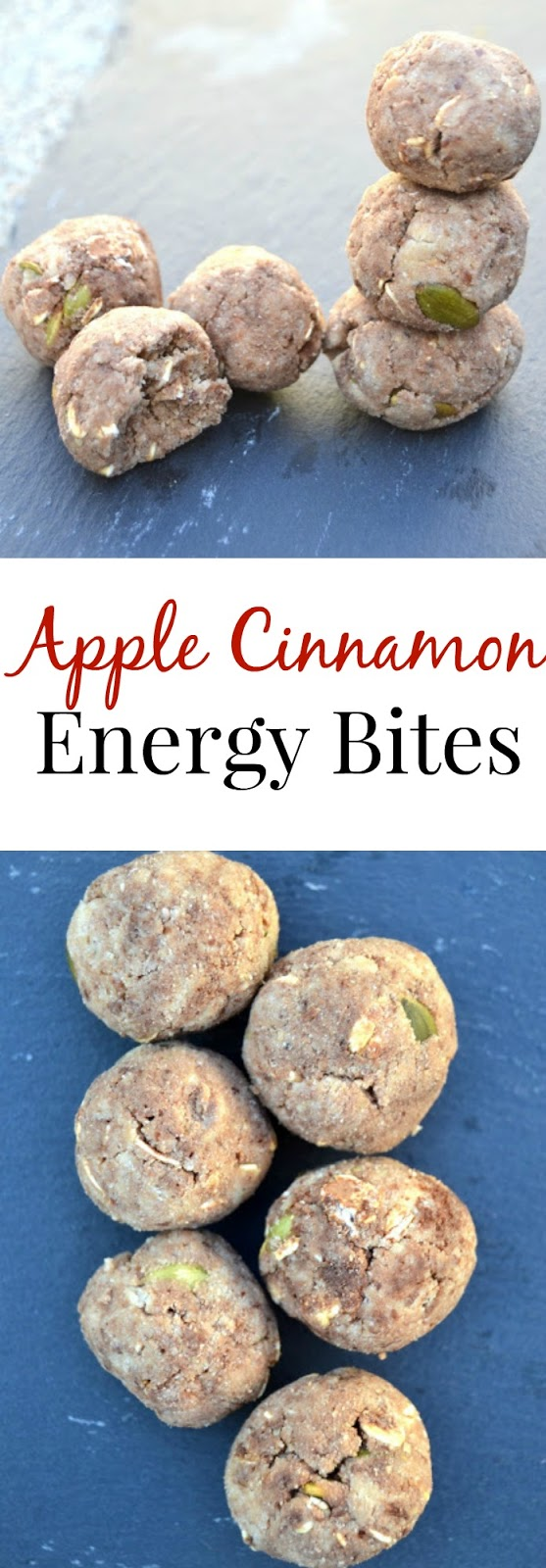 These Apple Cinnamon Energy Bites are filling, tasty and high in protein and fiber to keep you full. www.nutritionistreviews.com