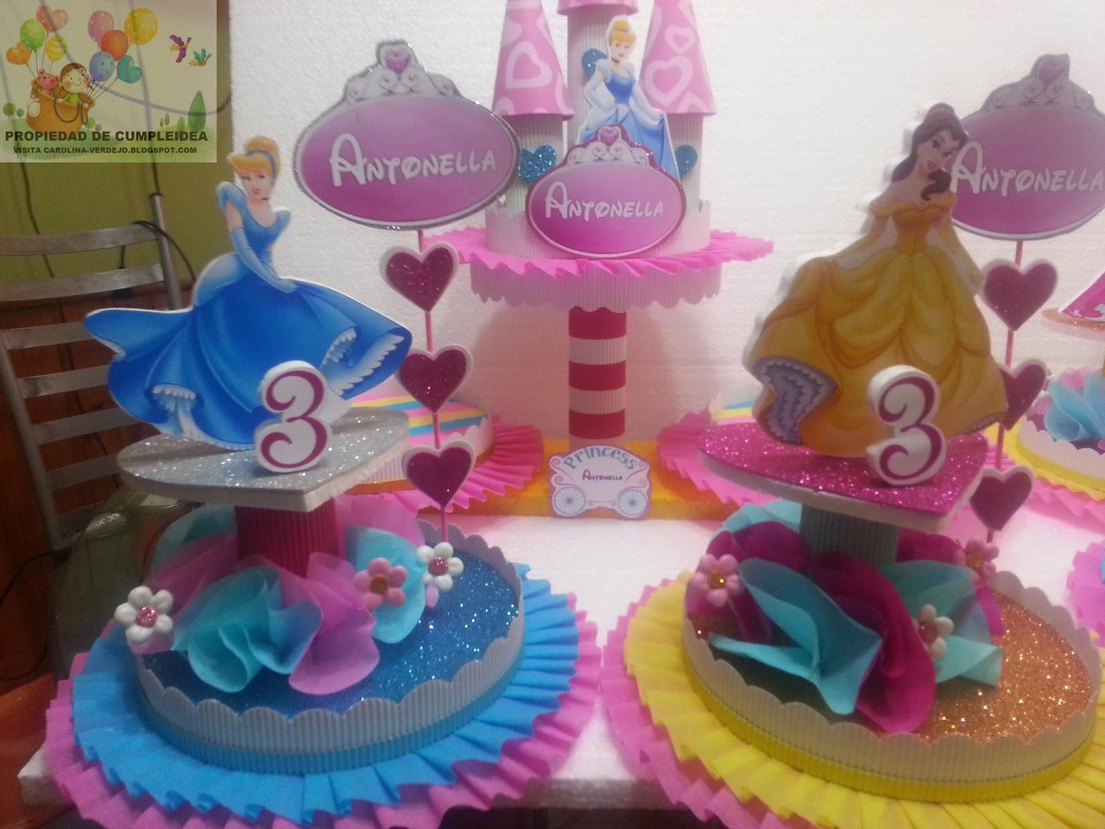 DECORACIONES INFANTILES: princesas