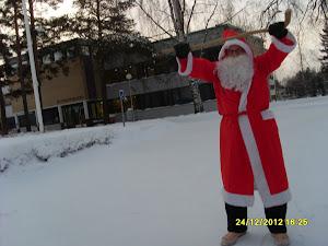 Joulupukkipalvelu Pirkkala toivottaa kaikille iloista joulumieltä molemmin puolin aattoa