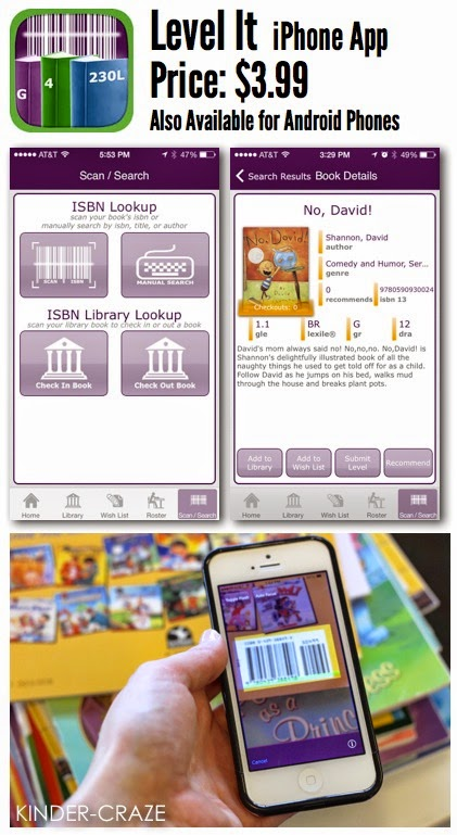 Level It app to level your classroom library books