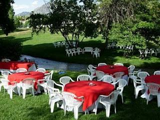 Decoracion de Bodas en Blanco y Rojo, parte 2