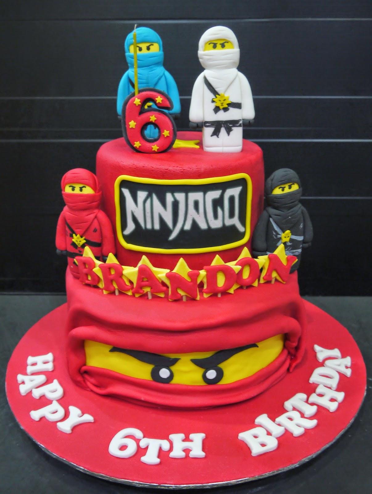 Cake Decoration Ninjago : Cupcake Divinity: Brandon s Ninjago cake