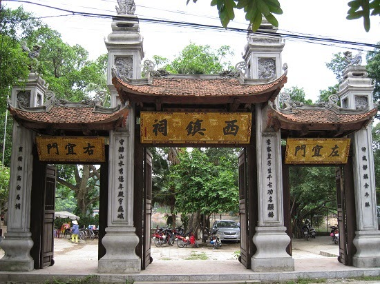 """Voi Phuc - The western """"guardian Temple"""" of ancient Thang Long"""