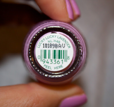 lucky lucky lavender opi nail polish purple