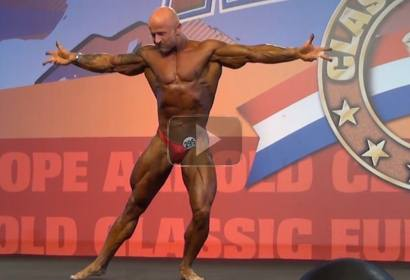 Andre Thesen Free Poses - Arnold Classic Europe 2013