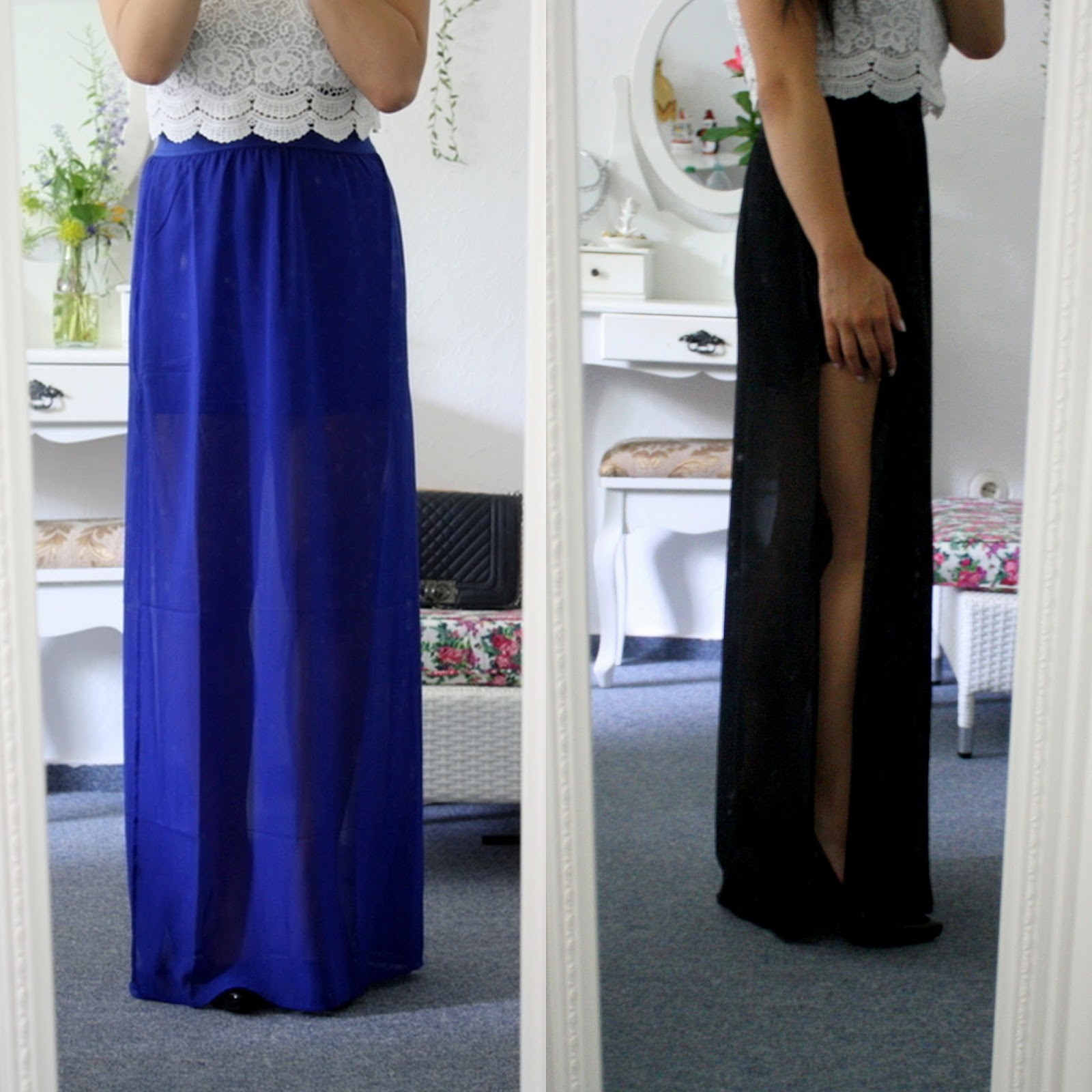 Maxi split skirt - H&M *direct link* 9.99,-
