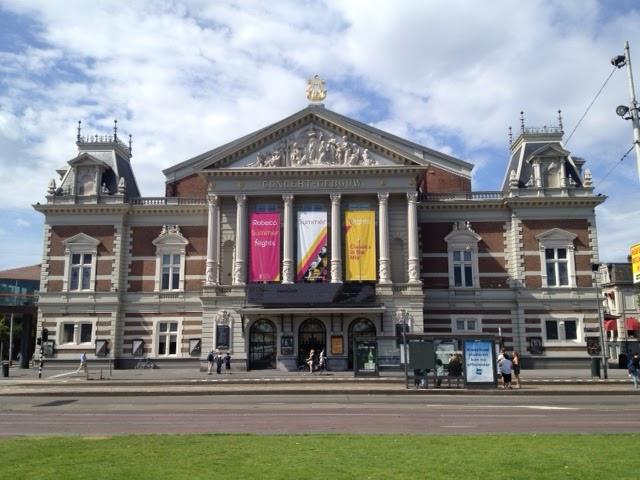 Concertgebouw Museumplein Amsterdam
